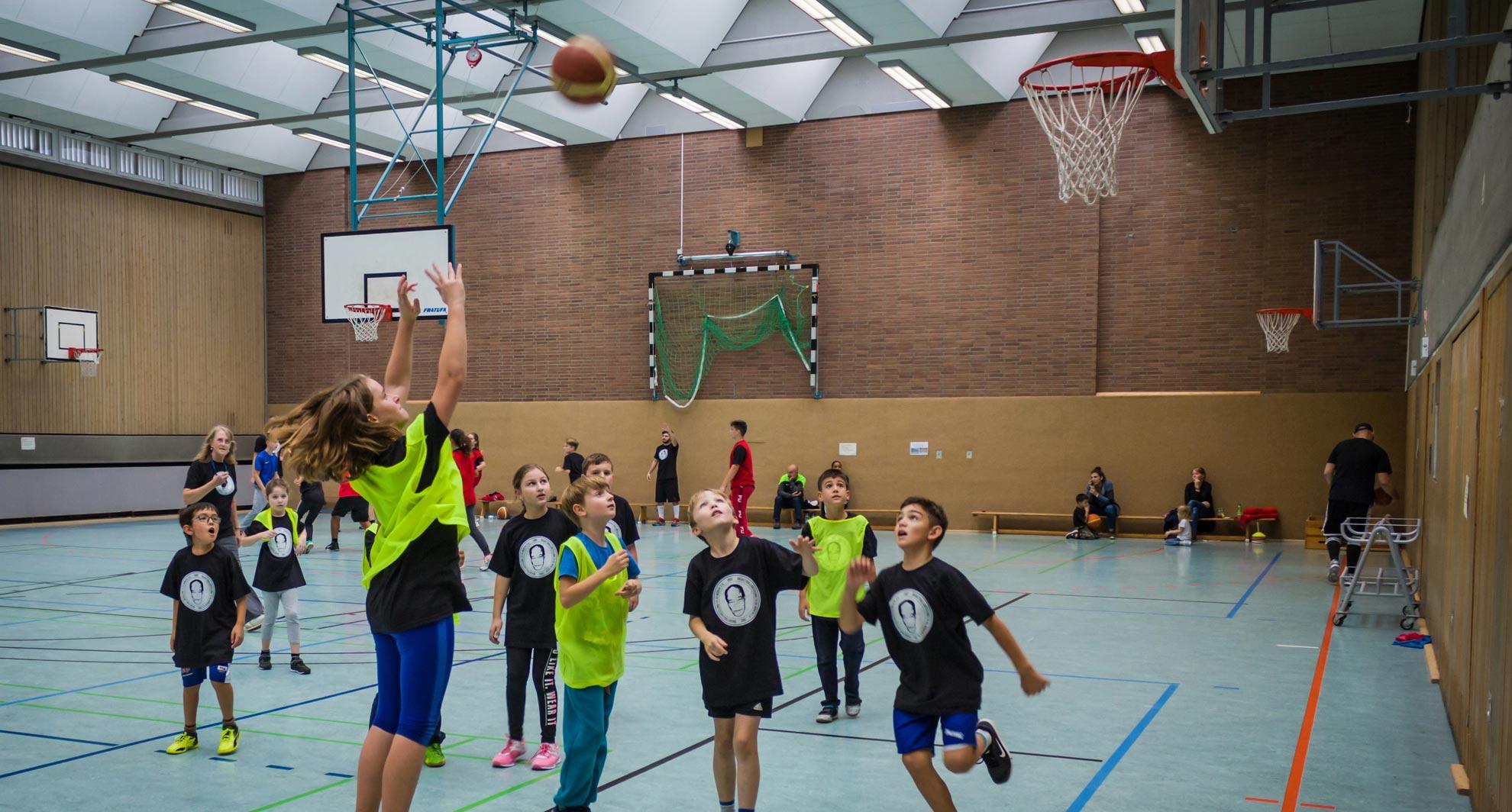 Willkommen bei der Basketballabteilung!